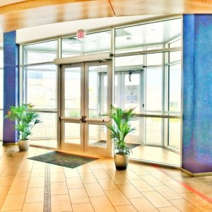 Quad Automatic Door Entrance