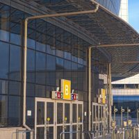 Automatic Doors Sports Arena
