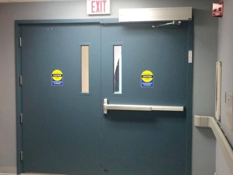 hospital-door-opposite-swing-door-opener
